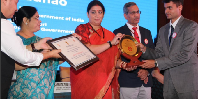 National Award for Beti Bachao-Beti Padhao Campaign
