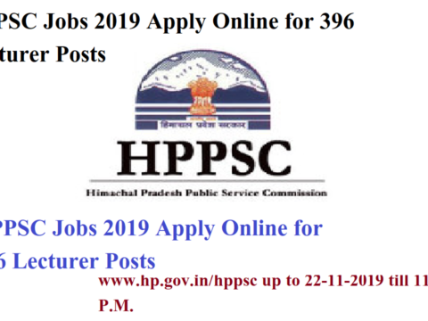 HPPSC Jobs 2019 Apply Online for 396 Lecturer Posts