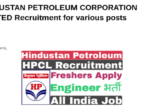 HINDUSTAN PETROLEUM CORPORATION LIMITED Recruitment for various posts