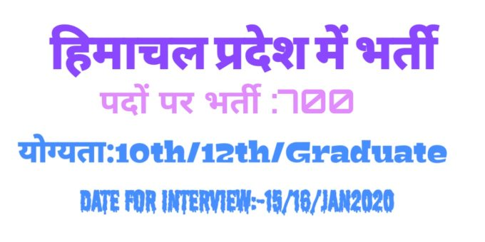 HP Job Alert : Employment fair will be held here on 15 and 16 January in Himachal Pradesh, 720 will get jobs in Himachal Pradesh