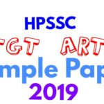 HP TGT Arts commission held on 11-05-2019
