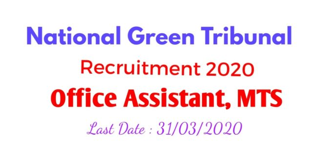 NGT Recruitment 2020 Apply Now