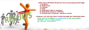 CBSE Board 10th Class Results 2020