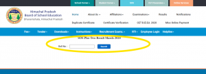 HPBOSE SOS Plus Two Result 2020 | Download Here