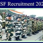 BSF Recruitment 2020 Apply Online Last date to Apply Online : 28/10/2020