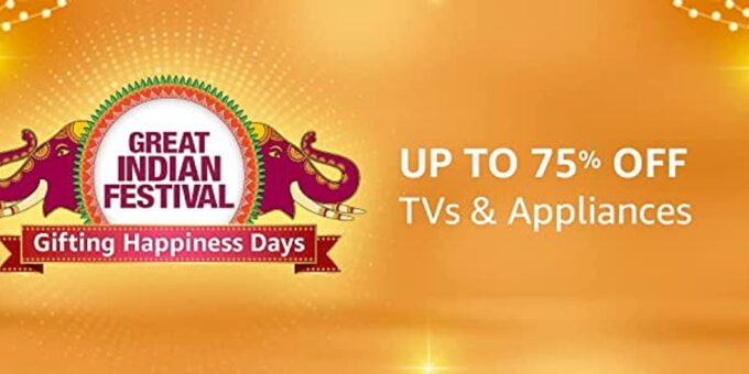 Gifting special   Up to 75% off on TVs & appliances