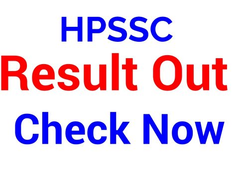 HPSSC Result Post Code 761 | Computer Programmer,HPSSC Result Post Code 765 | Junior Engineer ( Civil )