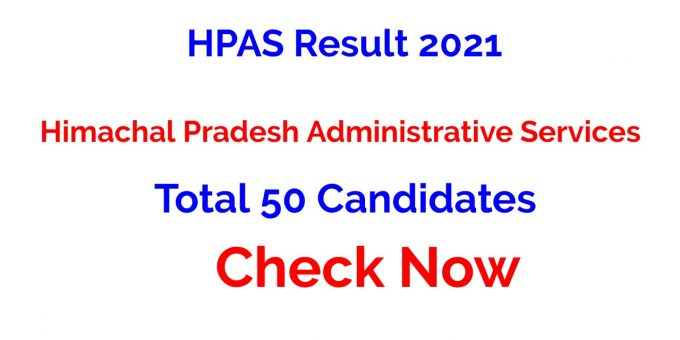 HPAS Result 2021