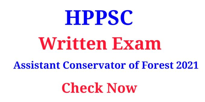 HPPSC Written Exam Assistant Conservator of Forest 2021